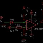 Operatsioonivõimendil põhinev laadimisregulaatori skeem